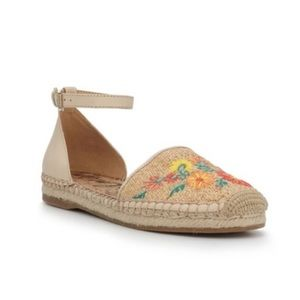Sam Edelman Embroidered Floral Espadrille Shoe